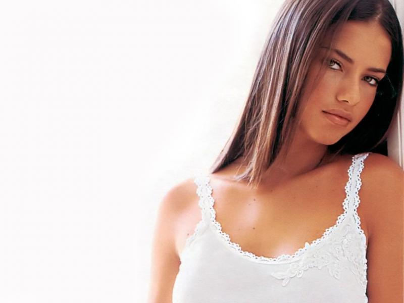 Angelic wings of Adriana Lima